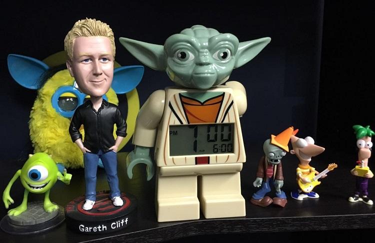 Gareth Cliff and Yoda
